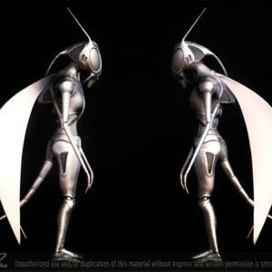 Harold, the Locust - silver