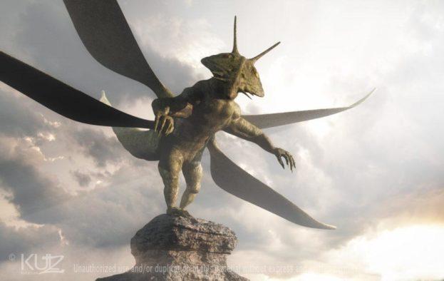 Poster: Harold, the Locust – Sky